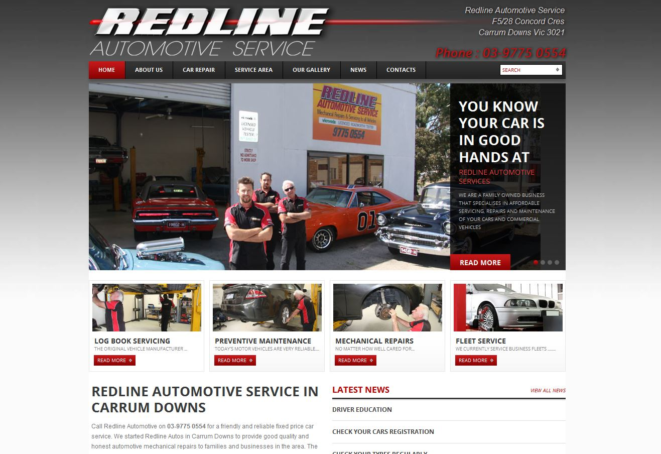 Redline automotive service